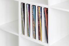 #Schallplatten #Fachteiler für #Ikea #Expedit #Regal // #Vinyl #divider in Ikea Expedit #shelf