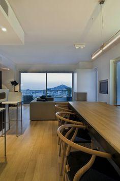 LAMBROS & LEUTERIS APARTMENT   TABLE HOUSE #Architecture #Interiordesign #Ampelokipoi #Athens #Greece #Kipseliarchitects