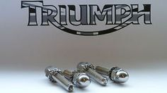 TRIUMPH BONNEVILLE EXHAUST STUDS, NUTS, WASHERS A2 STAINLESS STEEL KIT | eBay