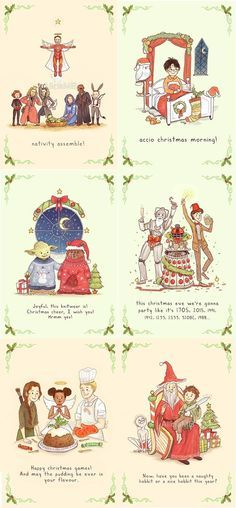 Image result for christmas fandoms