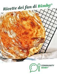 Pane comodo senza impasto - no knead bread No Knead Bread, Oreo, French Toast, Pizza, Breakfast, Food, Morning Coffee, Meals, Morning Breakfast