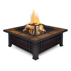 Real Flame Morrison Wood-Burning Fire Pit