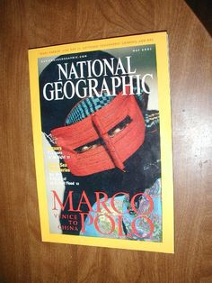 National Geographic Vol. 199, No. 5 May 2001 Marco Polo Venice to China - for sale at Wenzel Thrifty Nickel ecrater store