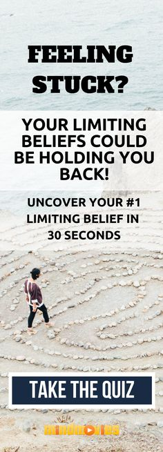 Your limiting beliefs could be holding you back! Uncover your limiting belief in 30 seconds. Self Development, Personal Development, Best Motivational Quotes, Inspirational Quotes, Affirmations, Attraction, Visualisation, Spiritual Wellness, Thats The Way