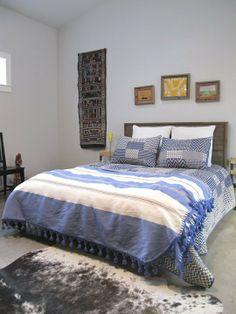 Bedroom. Karen & Deborah's Cherrywood Renovation — House Tour