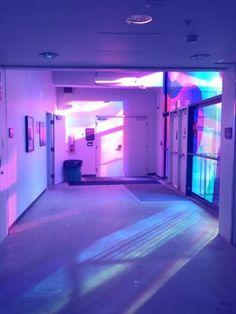 grunge, room, and purple image vaporwave Violet Aesthetic, Aesthetic Colors, Aesthetic Grunge, Vaporwave, New Retro Wave, Purple Haze, Periwinkle, Lilac, Neon Lighting