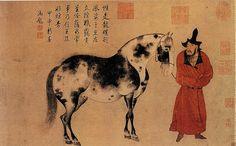 Zhao Yong [赵雍 - 临李公麟人马图]. Китайские художники средних веков