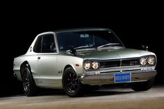 1970 Nissan Skyline GT-R -- One of a number of beautiful, mostly-unknown, post-war Japanese cars.