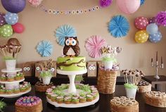 Great party site-Hostess with the Mostess® - Lucia´s owl themed party
