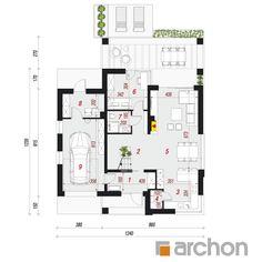 g krkleca - switch dnevnu i kuhinju, terasa i na istoku Beautiful House Plans, Beautiful Homes, Design Case, House Floor Plans, Kitchen Design, Pergola, Exterior, House Design, How To Plan