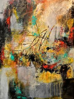 40x30Love this acrylic painting from Ugallery. Off the Grid by DL Watson.