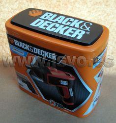 Atornillador a batería reversible, con luz LED Black&Decker ® Ref.: KC460LN-QW - 3,6Vcc Li-Ión www.jsvo.es