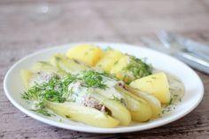 Schmorgurken... ein Gericht aus meiner Kindheit, Gurken, Rezept, recepie, delicious, gherkin, dill, Kartoffel