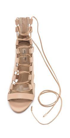 Aquazurra Amazon Lace-up Sandals