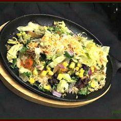 Chipotle-Style Veg. Bowl on Sizzler  #chipotlevegbowl #sizzler #sizzlerrecipe #maxicansizzler #healtybowl