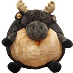 Squishable Moose is 15 squishy inches of antlers to hooves!
