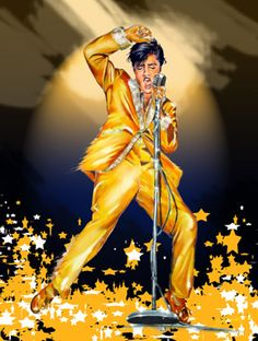 Elvis Art - One Night With You