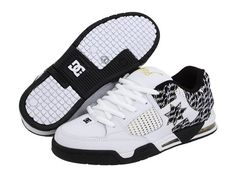 You'll love these stylish DC Men's Command RM Skate Shoe,White/Black/Gold,7 M US.