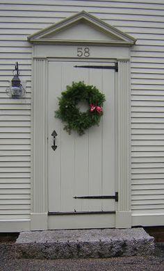 J.Covington*Design: Historical Christmas Doors of Portsmouth, NH