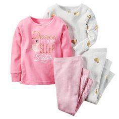 Carters Baby Girls Snug Fit Cotton PJs Dance First Carters. Baby Girl Pajamas, Carters Baby Girl, Toddler Pajamas, Toddler Girl Outfits, Kids Outfits, Toddler Girls, Teen Boys, Baby Outfits, Cotton Pjs