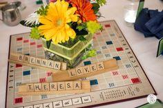 board game theme decorations   Via Theresa McLoughlin