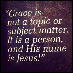 God's grace ♥