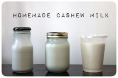 Cashews are so naturally creamy that it makes them perfect for all sorts of vegan creams, milks, puddings, and any other creamy sauces. Here, I'm using them to make homemade cashew milk.
