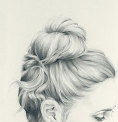 To Draw: Inspiration hair. [Great illustration of hair] Pencil Art, Pencil Drawings, Art Drawings, Pencil Painting, Painting Art, Drawn Art, Hand Drawn, Illustration Mode, Technical Illustration