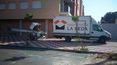 Mudanza en Ronda Sur Murcia con grúa