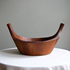 Dansk Teak Viking Bowl by Jens Quistgaard by BarkingSandsVintage,