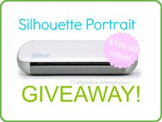 #Silhouette Portrait #giveaway Such an awesome crafting tool!
