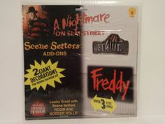 A Nightmare On Elm Street Freddy Krueger Scene Setters Add Ons