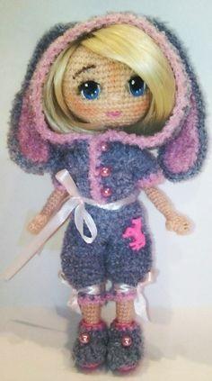 Куколка ростом 19 см,связана в результате теста куколки Ольги Музалевской.