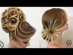 Top 15 Amazing Hair Transformations - Beautiful Hairstyles Compilation 2017 - YouTube