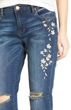Main Image - STS Blue Talor Embroidered Tomboy Jeans (West San Clemen)