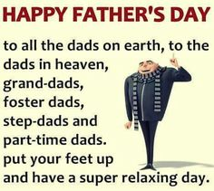 Happy Father's Day!! •**•.¸☮❥•.¸¸¸.•✿**•.¸☮❥•.¸¸¸.•✿**•.¸☮❥•.¸¸