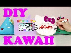 DIY Организация рабочего стола / KAWAII / Органайзеры своими руками ✎ Back to school Afinka - YouTube