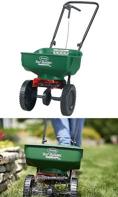 Seeders and Spreaders 118869: Scotts Turf Builder Edgeguard Mini Broadcast Spreader, New, Free Shipping -> BUY IT NOW ONLY: $42.12 on eBay!