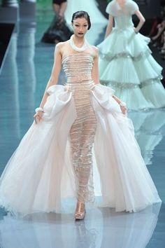 Christian Dior Fall 2008 Couture Fashion Show - Alexandra Agoston