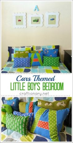 little boys bedroom #cars #bedroomideas