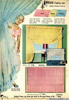 1955 Spiegel Christmas Catalogue 1950s Furniture, Stay Fresh, Christmas Catalogs, Window Dressings, Drip Dry, Girls Bedroom, Interior And Exterior, Dress Up, Vintage Girls