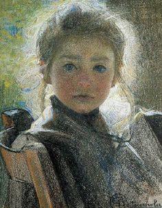 "arcadiaslight:  arcadiaslight  ""Mariuccia"" ,1903 Giovanni Sottocornola (1855-1917)"