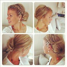 #Me #hair #pix #Twistwd #style #fashon