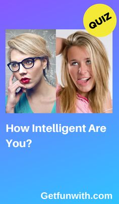 You might think you're the best and the brightest, but how intelligent are you really? Take these 10 questions and find out how much of a whiz you are! Iq Quizzes, Quizzes Funny, Playbuzz Quizzes, Quizzes For Fun, Online Quizzes, Random Quizzes, Buzzfeed Test, Best Buzzfeed Quizzes, Buzzfeed Personality Quiz