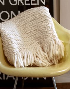 Koselig Blanket kit from Wool and the Gang, I love this company and cant deciede what I want to try first!