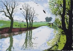 Tim Southall, On the Tow Path, Wychwood art