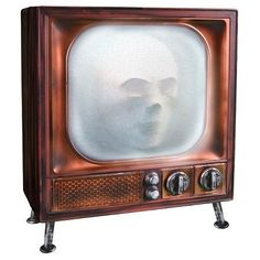 Animated Haunted Halloween TV Prop Decoration ** Details can be found by clicking on the image.
