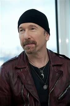 The Edge - U2 press conference for Ordinary Love in New York City - 7 December…