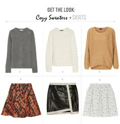 FRANKIE HEARTS FASHION: Craving: Cozy Sweaters + Skirts