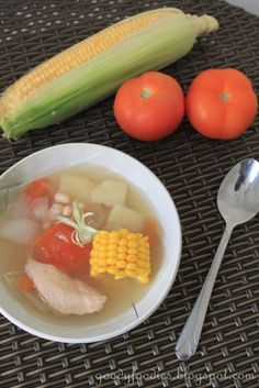 Recipe: Healthy Chinese ABC Soup with Sweet Corn